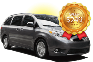 Summer Special, week long rental, 249 USD.